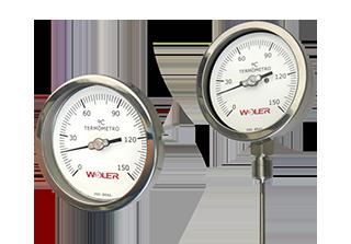 Termômetro de Aço Inoxidável