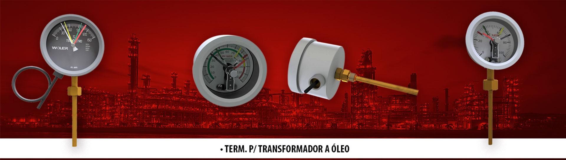 TERMÔMETRO PARA TRANSFORMADORES A ÓLEO